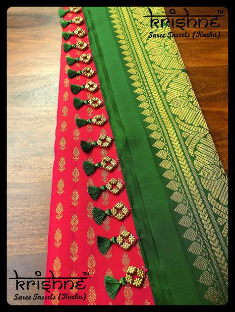 Best Bridal Saree Tassel Kuchu from Krishne Tassels