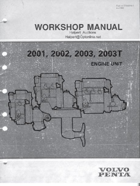 New Post Pdf Online Volvo Penta 2001 2002 2003 2003t Engine Service Manual Has Been Published On Procarmanuals Com Engine Pdf Online Volvo Https 자동차