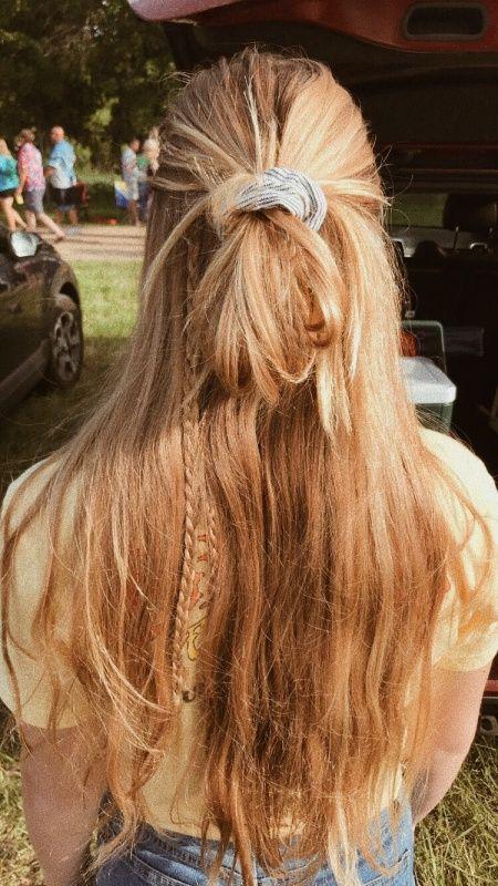 Follow Gavia Boyden For More Insta Gavia Scrunchie Hairstyles Hair Looks Hair Inspo