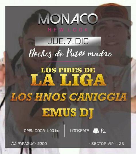 party Juev 7 Dic #TheCaniggia en...