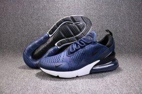 Women's Nike Air Max 270 Ocean Bliss ocean blisswhite black AH6789 400 Girls Lifestyle Running Shoes #AH6789 400A