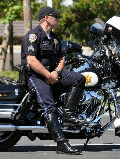 Motorcycle Cop Boots Motorcycle Cop Boots Men In Uniform Hot Cops
