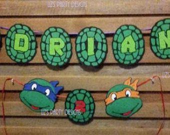 Free Printable Ninja Turtle Birthday Banner Ninja Turtle Birthday Happy Birthday Free Printable Turtle Birthday