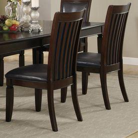 Ramona Walnut Side Chairs 101632