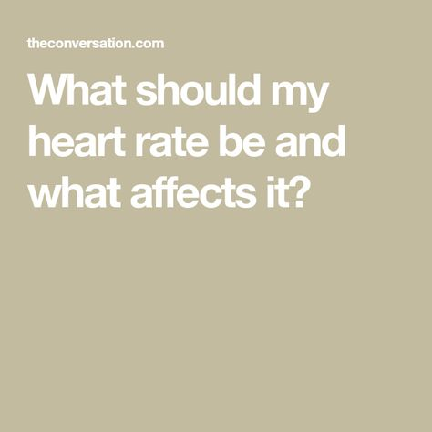 what should my heart be
