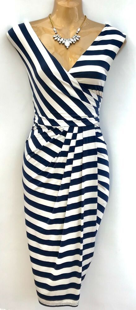 Phase Eight Size 14 Stripe Rene Occasion Dress Fashion Clothing Shoes Accessories Womensclothing Dresses Ebay Dresses Size 16 Dresses Stunning Dresses