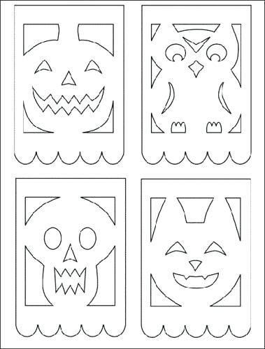 Patterns Posts Related To Printable Papel Picado Template For Kids Kalender 2019 Psd Hacer Sobres De Papel Sobres De Papel Como Hacer Calavera De Papel