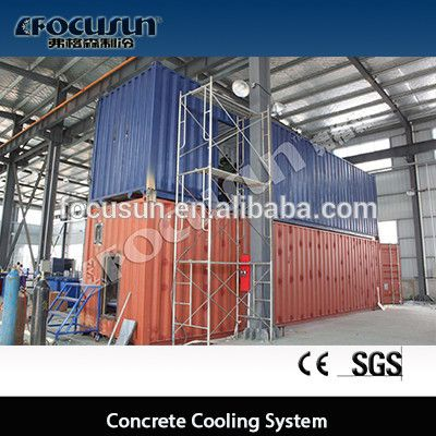 Ice Flaker For Concrete Cooling System With Images Concrete