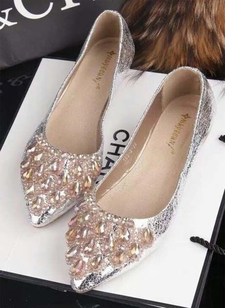 Chanel Flat Shoes 2018 Crystal Shoes Chanel Shoes Flats