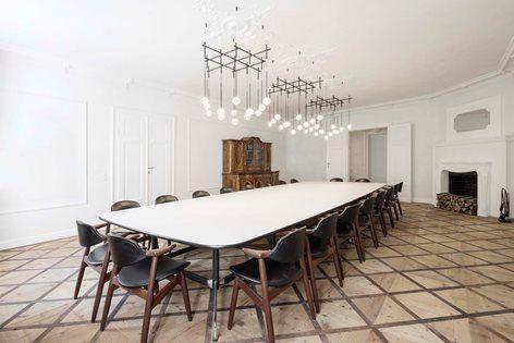 Gut Wagram Destilat In 2020 Steel Floor Lamps Shop Interiors Shop Interior Design