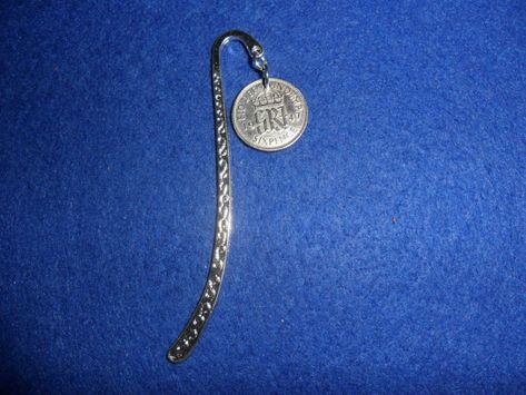 1949 70th birthday lucky Sixpence in Hands of Friendship Pendant keyring