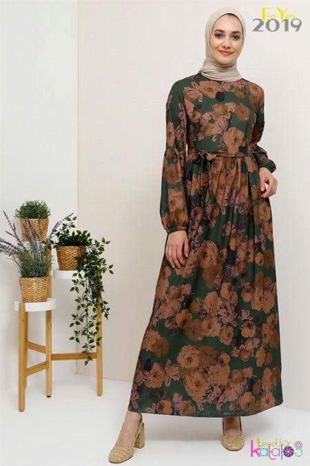 Yaz Tesettur Elbiseleri Sik Ve Rahat Kapali Kiyafetler Tesettur Giyim Modelleri Tesettur Katalog Elbise Elbise Modelleri The Dress