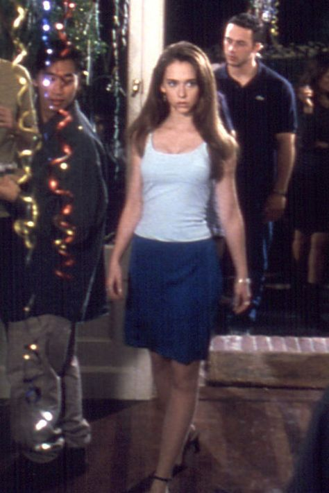 Jennifer Love Hewitt's entire look in 'Can't Hardly Wait,' See 14 other questionable throwback trends every fashion girl secretly loved.