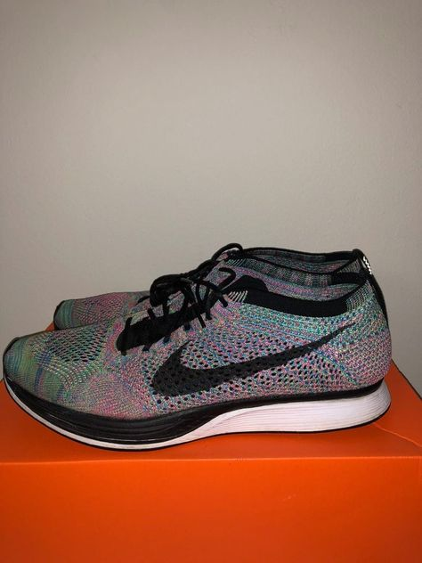 82833fa9bc0a Nike Flyknit Racer Multi Color Size 11.5 Green Strike Black Blue 526628 304   fashion  clothing  shoes  accessories  mensshoes  athleticshoes (ebay link)