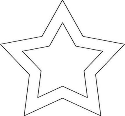 Moldes De Estrelas Para Imprimir E Recortar Molde Estrela Estrela Para Imprimir Desenhos De Estrelas