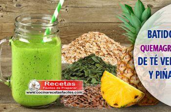 batidos verdes para adelgazar recetas mexicanas