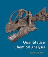 Quantitative Chemical Analysis  Daniel C Harris Charles A Lucy