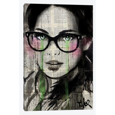 East Urban Home Prudence II Painting Print on Wrapped Canvas Size: