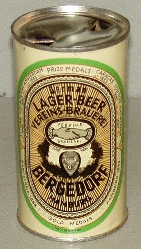 Bergedorf German Lager Beer Hamburg Germany 1950 S Heimat Hamburg Hamburg Elbe