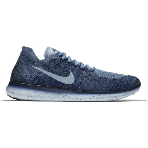 54ce65f61f26 Nike Men s Free RN Flyknit 2 Running Shoes (Ocean Fog Cirrus Blue College  Navy