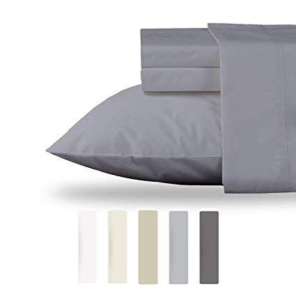 Luxury 100 Organic Cotton Gots Certified Percale Sheet Set 4