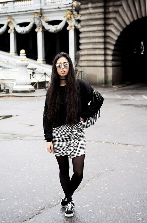 Épinglé par Anifee Cla sur love Street Style | Vêtements de tennis ...