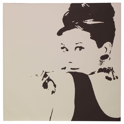 Bring class to a room with the PJÄTTERYD picture of Audrey Hepburn - wandbilder wohnzimmer günstig
