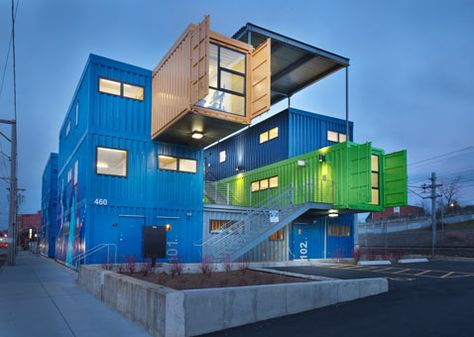 Shipping Containers To Become Condos In Detroit Container