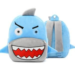 Child Baby Girl/&Boy Book Bags Cartoon Shark Animal Backpack Toddler School Bag