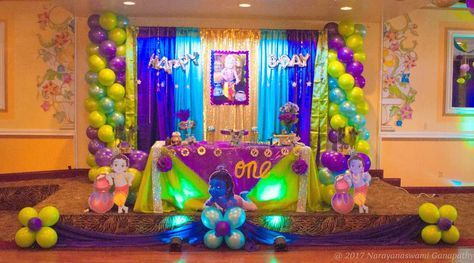 Krishna Birthday Party Ideas Photo 7 Of 22 Krishna Birthday