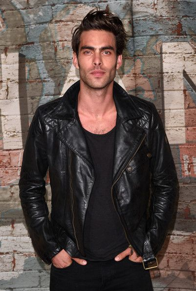 Jon Kortajarena Photos Photos Chanel Dinner And Cocktails Part 2 Jon Kortajarena Leather Jacket Men Leather Jacket