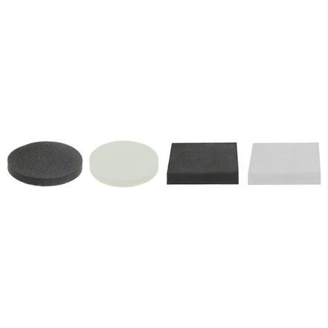 Rubber Chair Leg FeetScrew on Black or White Furniture Table Floor Protectors