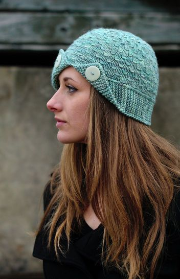 7e3cd9141 Campello cloche hat | Hats | Knitting patterns, Jumper knitting ...