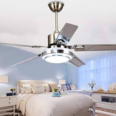 Tropicalfan Modern Led Ceiling Fan With One Acrylic Light Cover