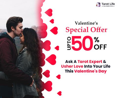 Open Doors of Love! This Valentine week, clear all love hurdles with a flat 50% off on tarot guidance. Tap to connect with your Tarot expert. #ValentinesDayChallenge #valentinesdayoffers #valentinesday2021 #happyvalentinesday #valentines #bestvalentinesdaygift #valentinesdayspecial #myvalentine #love
