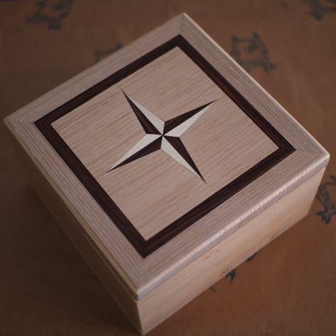 Small Box Caixa De Madeira Artesanato