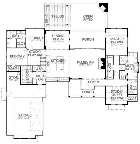 Hajek Associates Farmhouse Style House Plans Basement Flooring Options Farmhouse Style House