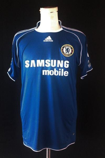 new arrivals d0b14 41532 2007/08 Chelsea Home Shirt - Classic Football Shirts | Stuff ...