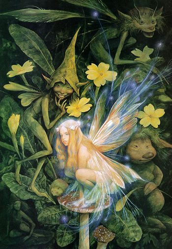 Photo of Fairy - Brian Froud for fans of Magical Creatures 7834522 Brian Froud, Woodland Creatures, Magical Creatures, Fantasy Creatures, Fairy Dust, Fairy Land, Fairy Tales, Forest Fairy, Real Fairies