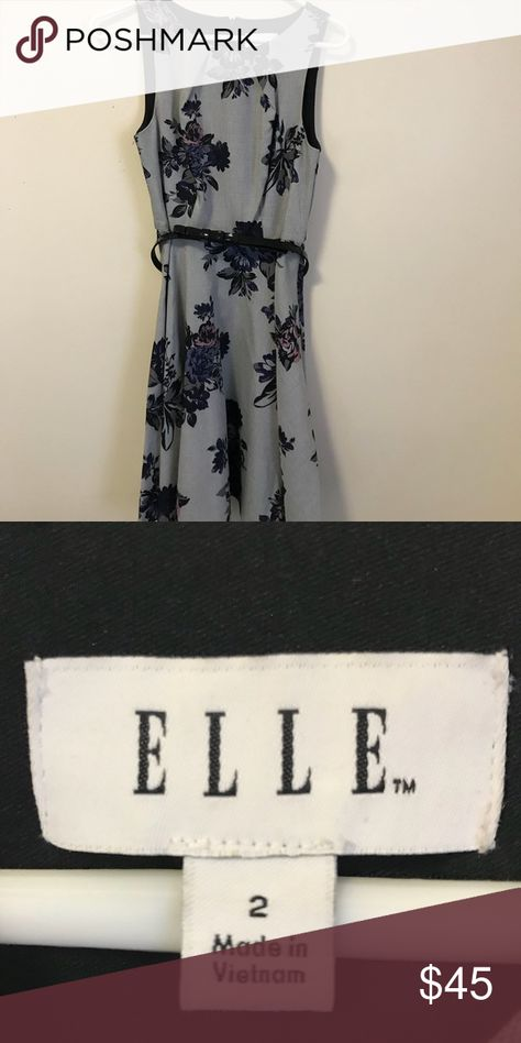 Floral Print Professional Dress Perfect paired with a cardigan or blazer for professional events! Elle Dresses