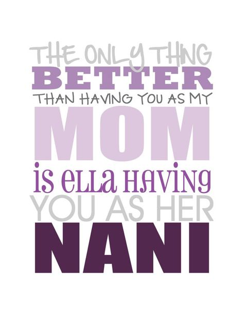 Mother Grandma Nana Mom Nani Tia Aunt Subway Art By Mlewis117 9 00 Diy Quotes Mothers Love Happy Mothers Day