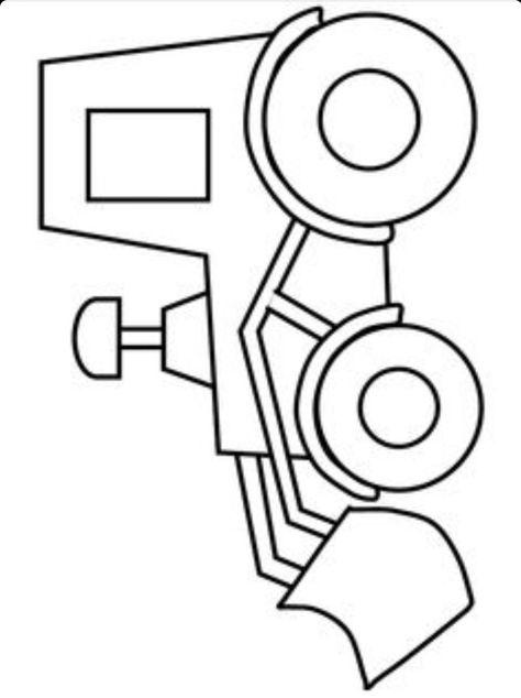 dump truck printable Kids \ Stuff #2 Pinterest Dump trucks - copy simple tractor coloring pages