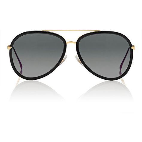 73e1b9f023d1 Fendi Women s Aviator Sunglasses (302.785 CLP) ❤ liked on Polyvore  featuring accessories