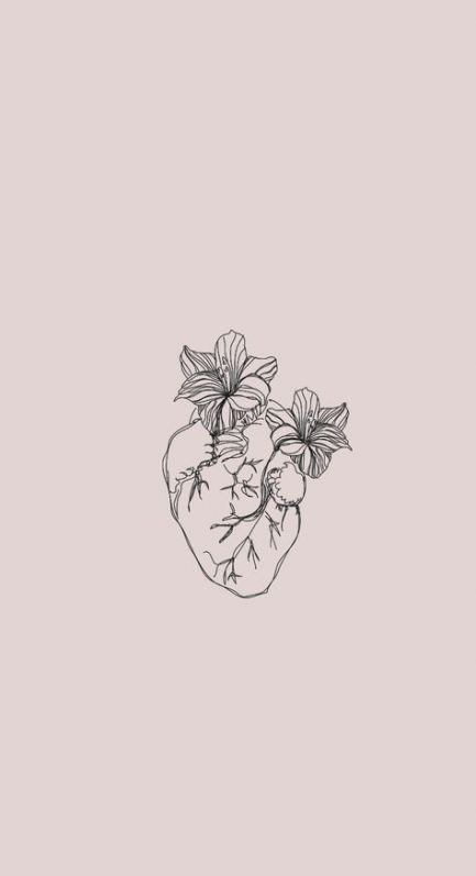 Aesthetic Flowers Drawing