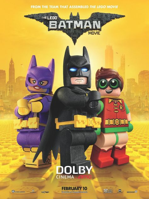 Return To The Main Poster Page For The Lego Batman Movie