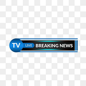 Television Breaking News Headline Lower Third Broadcast Graphic Interfaces Title Png Transparent Clipart Image And Psd File For Free Download Breaking News Broadcast Happy New Year Text