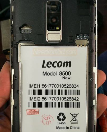 Lecom 8500 New MT6580 7 0 Flash File Without Password