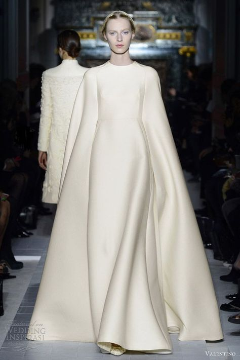 #valentino #couture #cape #gown #luxury #glam #fashion #woman #style