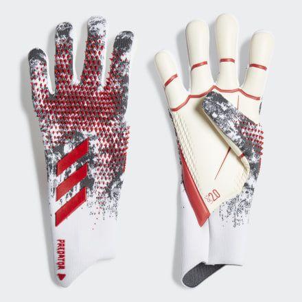 Adidas Predator 20 Pro Manuel Neuer Gloves White Adidas Us In 2020 Adidas Predator Goalkeeper Gloves Manuel Neuer Gloves