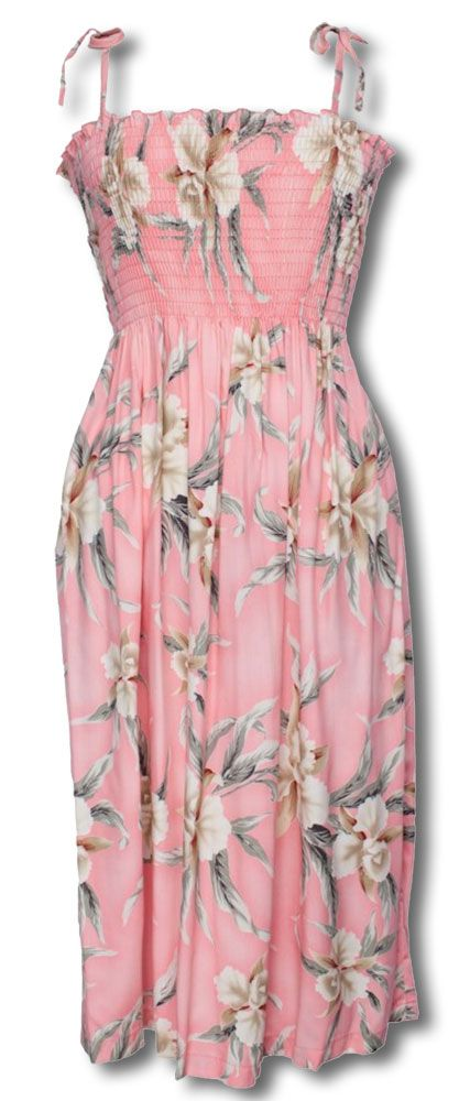 Retro Orchid Pink Women S Two Palms Sundress One Size Fits Most